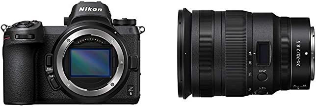Nikon Z6 FX-Format Mirrorless Camera Body w/ Z 24-70mm F/2.8 S