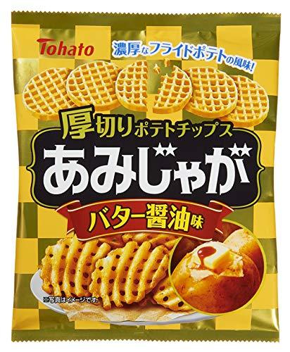 東ハト あみじゃがバター醤油味 58g ×12袋
