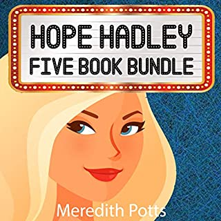 Hope Hadley Five Book Bundle audiobook cover art