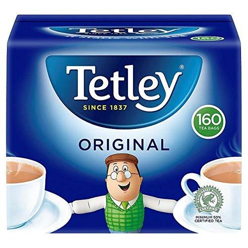 Tetley Teebeutel 160 pro Packung