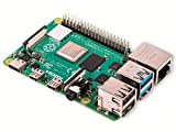 RASPBERRY PI 4 Modell B 4GB ARM-Cortex-A72 4X 1,50 GHz, 4 GB RAM, WLAN-AC, Bluetooth 5, LAN, 4X USB,...