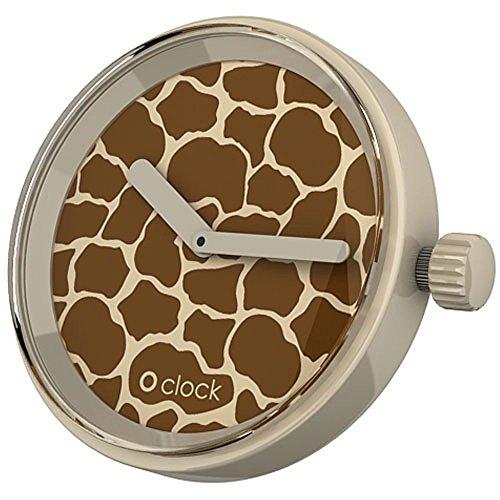Fullspot O Clock OCF40 - Reloj analógico Unisex, Correa de...