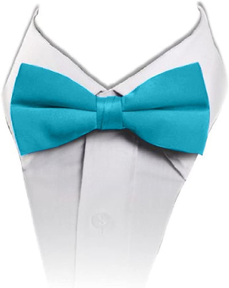 Outstanding online shop Solid Banded Bowtie TO-18 Turquoise Blue