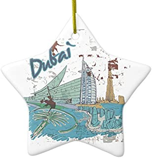 Valentine Herty Unique Designed Christmas Hanging Ornament Dubai for