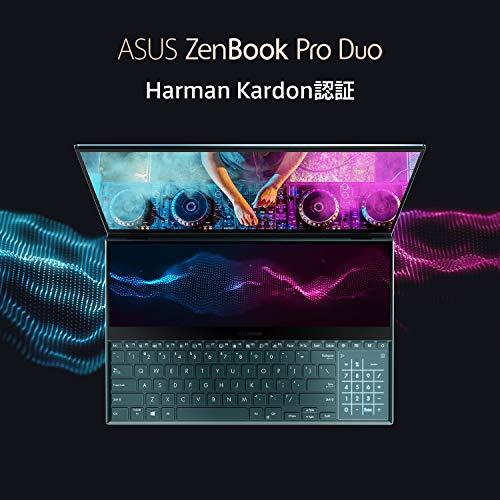ASUSZenBookProDuo(Corei7-9750HK/RTX2060/32GB・SSD512GB/Win10)【日本正規代理店品】UX581GV-9750