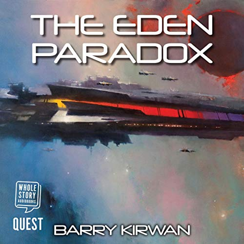 The Eden Paradox audiobook cover art