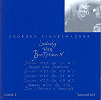 Georges Pludermacher Plays Beethoven, Vol. 5