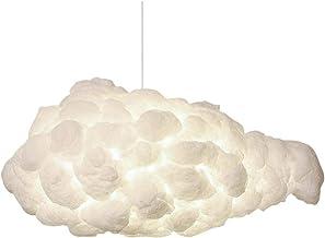 Ceiling Lighting, Modern Imitation White Clouds Lighting Pendant Fixture, Creative Cotton Cloud Chandelier Art Industrial ...