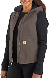 CARHARTT Women's Washed Duck Hooded Vest