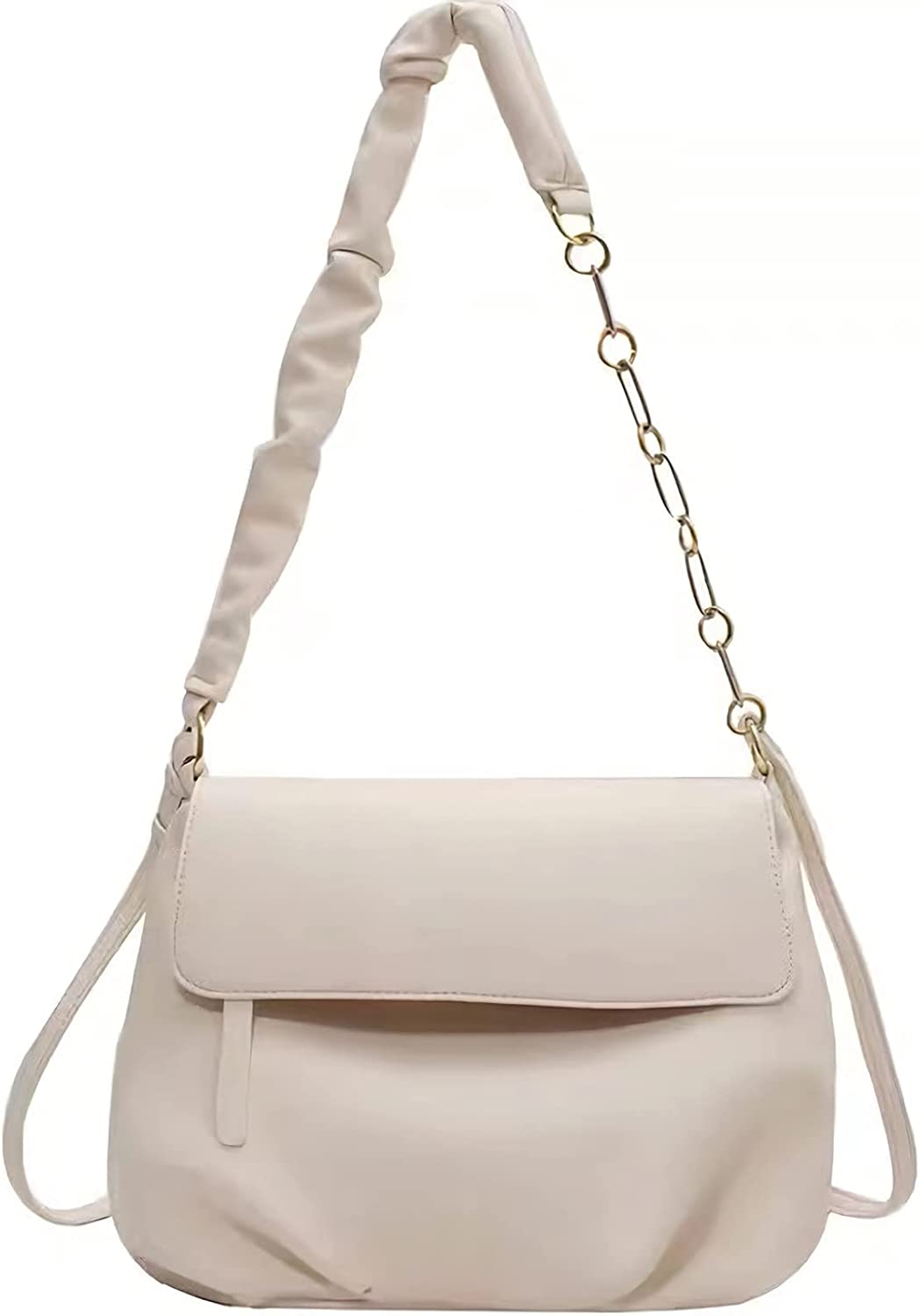 Double Strap Shoulder Bag for Women Crossbody Bag Soft Faux Leather Hobo Bags Tote Purse for Girls, Ideal Gift