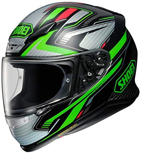 Shoei Helm NXR Stab TC-4 schwarz grün Motorradhelm Integralhelm, M