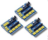 DarEnterprises 3X - Nano v3.0 I/O Expansion Board Micro Sensor Shield Compatible with Nano