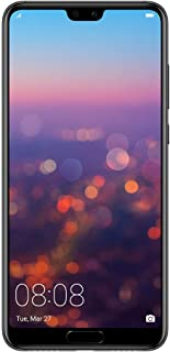 "HUAWEI P20 Pro Smartphone, Dual-SIM Mobile Phone with 6.1"" FHD Display, Rear Leica Triple AI Camera, 6GB RAM+128GB ROM, Black-Australian Version"