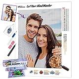 5D Diamond Painting Personalizado Foto kit completo,Custom DIY Diamond Embroidery Kit,Hacer Su...