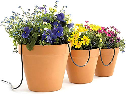 Raindrip R560DP Automatic Watering Kit for Container and Hanging Baskets, Water up to 20 plants with this kit , Black