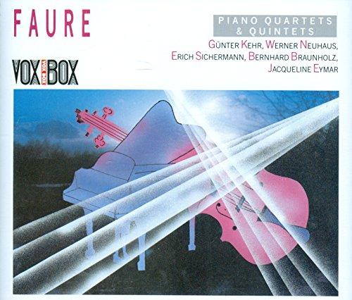 FAURE: Piano Quartets & Piano Quintets