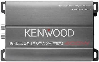 Kenwood KAC-M1814 4-Channel Compact Bridgeable Marine/Motorsports Amp (Certified Refurbished)