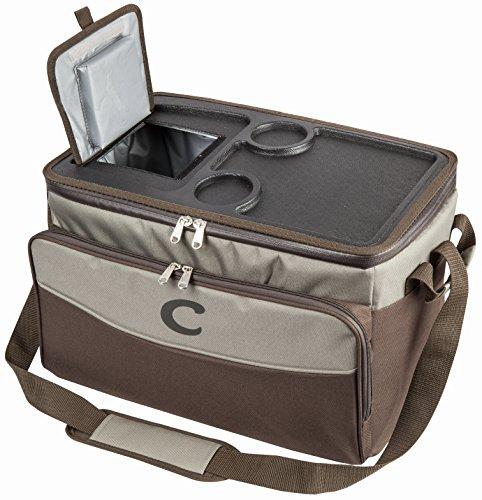 """VTK Nature isotherme Tasche """"Nouria X-26"""", 26 Liter, weiche Kühlbox mit Tablett, Picknick, Wandern, Camping, Biwak."""