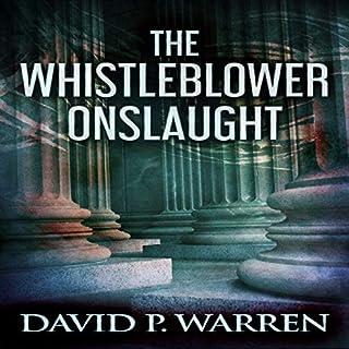 The Whistleblower Onslaught audiobook cover art