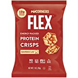 PopCorners Flex Barbecue Vegan Protein Crisps | Plant-Based Protein, Gluten Free Snacks | (24 Pack, 1 oz Snack Bags)