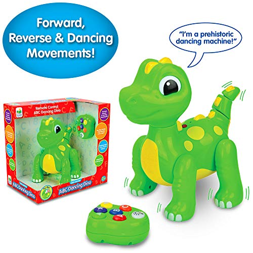 The Learning Journey Early Learning - Remote Control ABC Dancing Dino –...