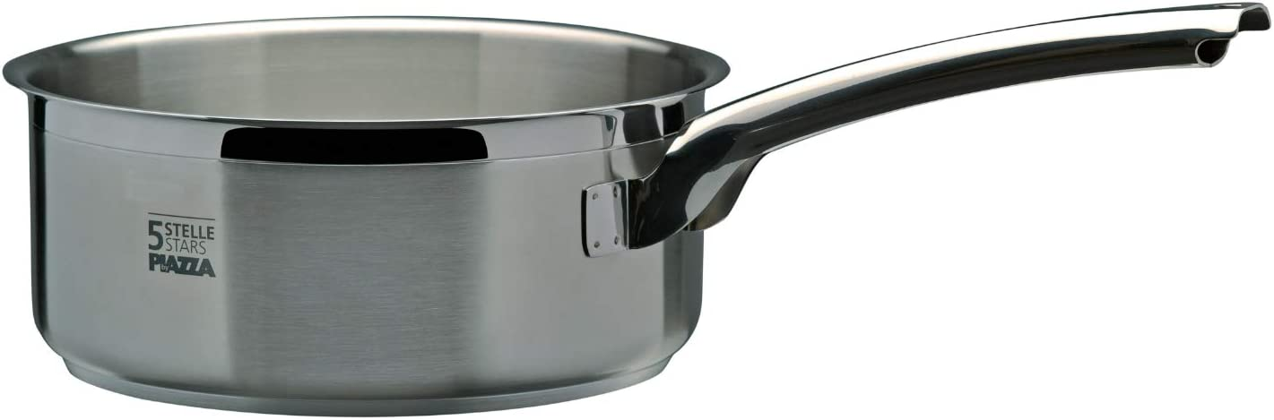 Piazza 5 Stars Stainless Steel Bargain Max 86% OFF sale Pan 1.70-Quart Sauce