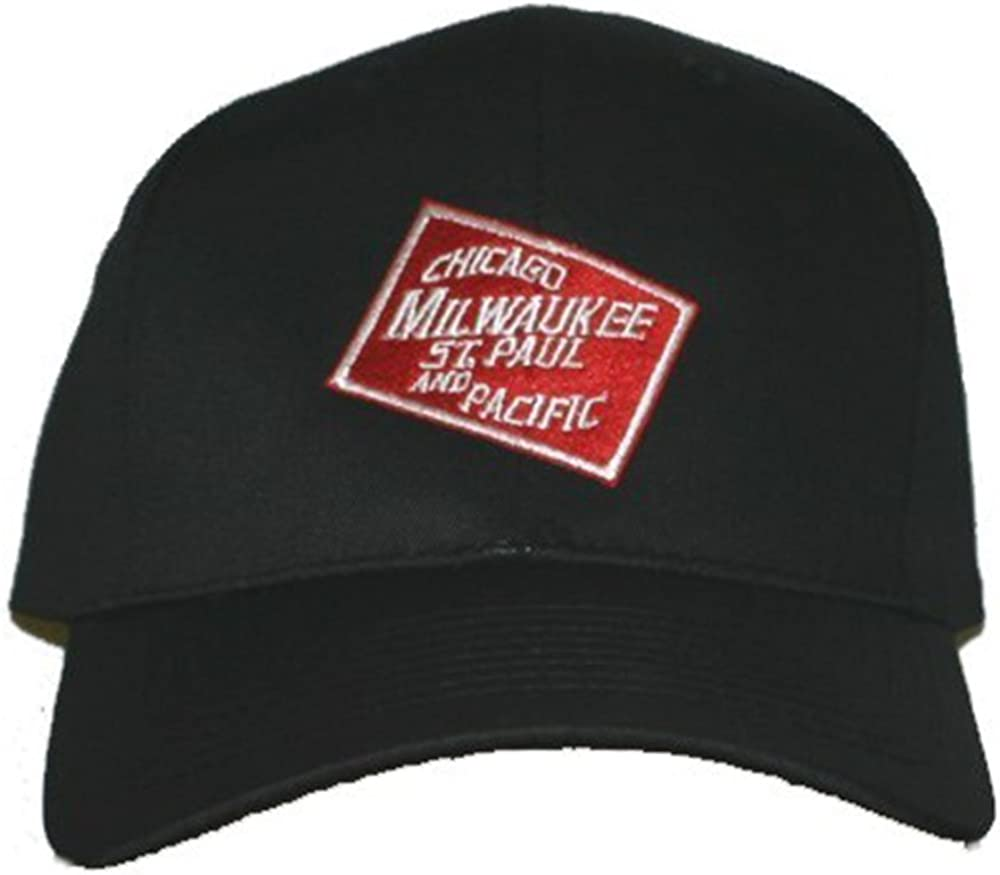 Max 61% OFF Chicago Milwaukee St. Paul and Embroidered Railroad Pacific Now free shipping Ha