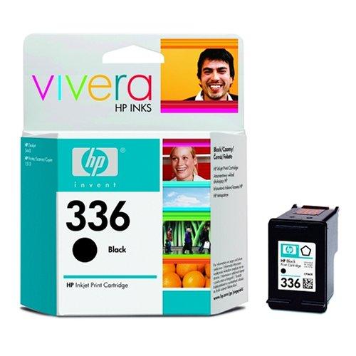 HP Cartucho negro de inyección de tinta HP 336 336 Inkjet Print Cartridges, 20 a 80% HR, de 15 a 35°C, de 15 a 32 °C, del 5 al 95% de HR, 116 x 36 x 115 mm, 0.06 kg (0.132 libras)