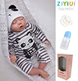 ZIYIUI 20 inch Realistic Reborn Baby Dolls That Look Real Baby Boy Soft