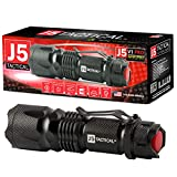 J5 Tactical V1-PRO Flashlight - The Original 300 Lumen Ultra Bright, LED Mini 3...