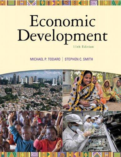 Economic Development (11th Edition) (The Pearson Series...