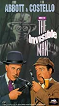 Abbott and Costello Meet the Invisible Man [USA] [VHS]