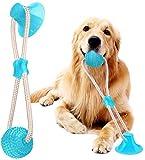 Juguete Perro Ventosa, Pelota Ventosa para Perro, Juguete para Mordedura De Molar para Mascotas,...