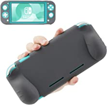 Grip Case for Switch Lite, KIWI design Soft Silicone Grip Cover Skin Anti-Scratch Non-Slip Shockproof Protective Case with...