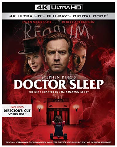 Doctor Sleep (4k Ultra HD + Blu-Ray + Digital Copy) $14.99 @ Amazon