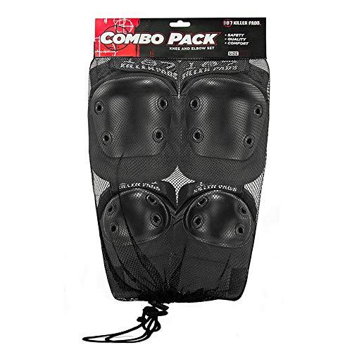 187 Killer Pad Set Combo Pack Black-XS