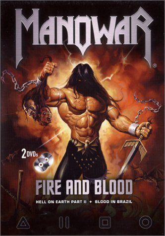 Manowar - Fire And Blood - Hell on Earth II & Blood in Brazil (2 DVDs) [Alemania]