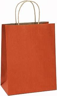 orange gift bags bulk