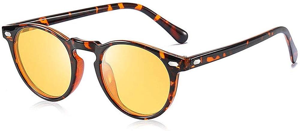 Retro round sunglasses glasses polarized San Antonio Mall anti-glare Free Shipping Cheap Bargain Gift