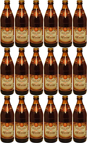Brauerei Greif - Dunkle Weisse (18 Flaschen) I Bierpaket von Bierwohl