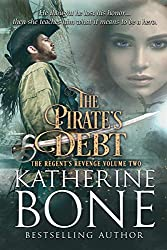 Pirate romance, Katherine Bone Pirate's Debt, ebook