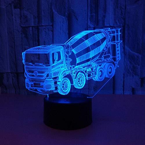 Mixer-Nachtlicht,3D-Schlaflicht,LED-Licht,Blitz,USB-Schnittstelle,Touch-Fernbedienung,Zuhause,Kinderzimmerdekoration,Urlaub,Weihnachtsgeschenk