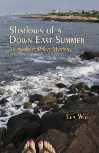 Image of Shadows of a Down East Summer: An Antique Print Mystery (Antique Print Mysteries)