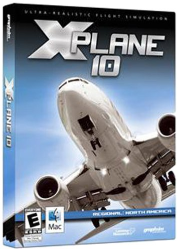 X-Plane 10 Regional: North America - Mac by Graphsim Entertainment