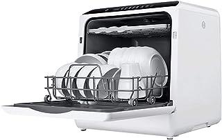 Lavavajillas Compacto Sin InstalacióN, Cocina Mini Lavavajillas Compacto de Doble Uso Lavadora PortáTil Totalmente AutomáTica para Plato Plato Taza Tenedor, Ahorra Agua