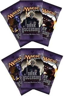 6 (Six) Packs of Magic the Gathering - MTG: Dark Ascension Booster Pack Lot (6 Packs)