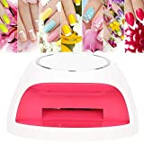Portable and Mini Nail Dryer, Air Drying Machine with Polish Gel for Hands