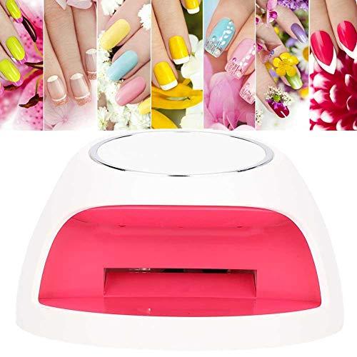 Asciugacapelli portatile e mini, asciugatrice ad aria con gel polacco per mani e piedi