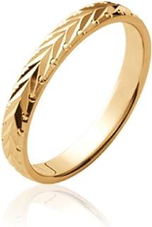 Axeliana Bleu Gold - Pierre Bleue ISADY 18 carats Plaqu/é Or 750//000 Bague femme
