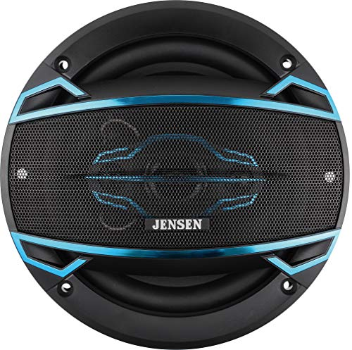 Jensen JS465 4-Way 6 ½ inch Car Speakers with 160-Watt Power & 35mm Mylar Balanced Dome Midrange